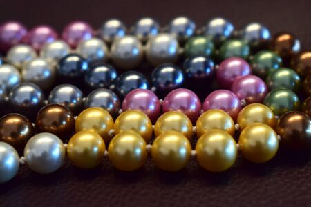 Pearl necklace It is a beautiful necklace in many colors.