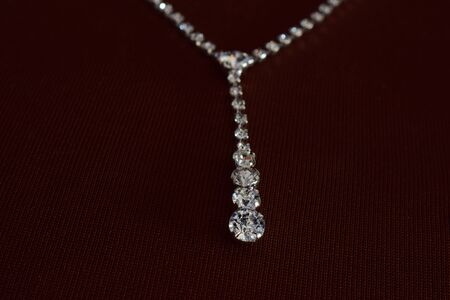 Diamond necklace As accessories Luxurious and expensive