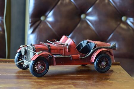Toys as a child It is a beautiful old car. Reklamní fotografie