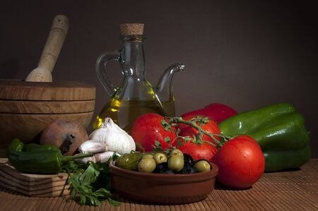 Mediterranean diet photo
