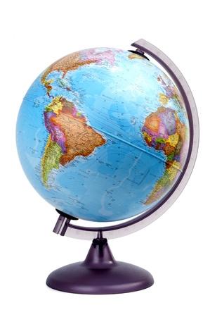 globe america Stock Photo - 10411800