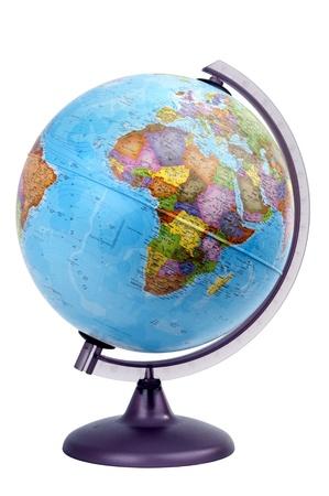 terrestrial globe: globe africa Stock Photo