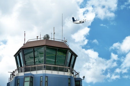 Air Traffic Control tower  Funchal - Madeira Editorial