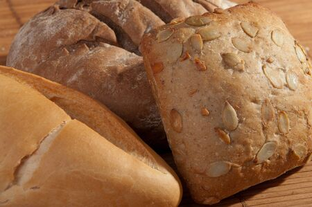 different breads - selective focus photo