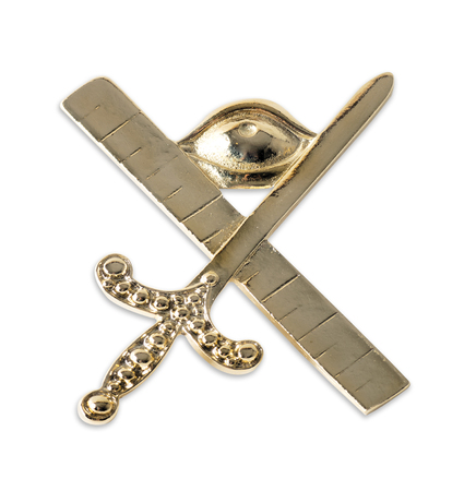 freemasonry: Blue Lodge officerJewel. Expert. Freemasonry