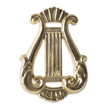 freemasonry: Blue Lodge officerJewel. organist. Freemasonry Stock Photo