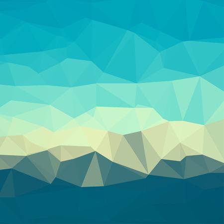 fondo geometrico: Fondo geom�trico cuadrado abstracto que consiste en tri�ngulos de colores.