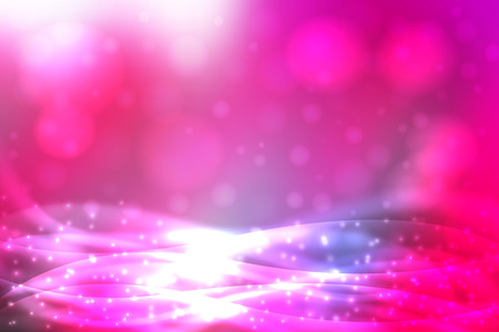 Pink abstract smooth blur background with blurry lights.