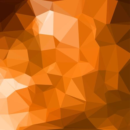 luminosity: Orange abstract square geometric background consisting of colored triangles. Illustration