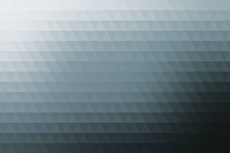 fondo geometrico: Gray abstract geometric background formed with triangles in rows. Vectores