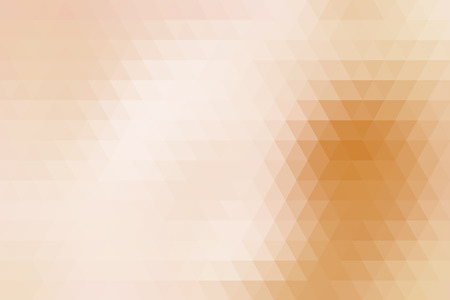 fondo geometrico: Beige abstract geometric background formed with triangles in rows. Vectores