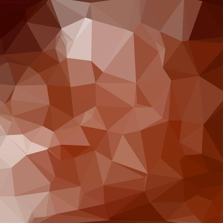 fondo geometrico: Brown abstract square geometric background consisting of colored triangles.