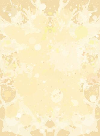 neutral: Pastel light beige neutral watercolor paint artistic splashes background, vertical format. Illustration