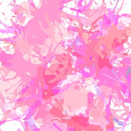 pastel backgrounds: Pastel colored pink artistic paint splashes, square format.