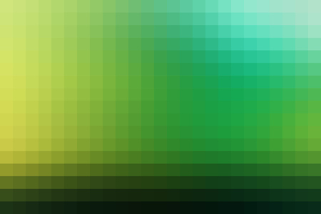 horizontal format: Abstract green smooth mosaic tile background for any design, horizontal format.