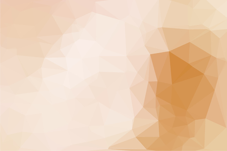 luminosity: Beige abstract geometric background consisting of colored triangles. Illustration
