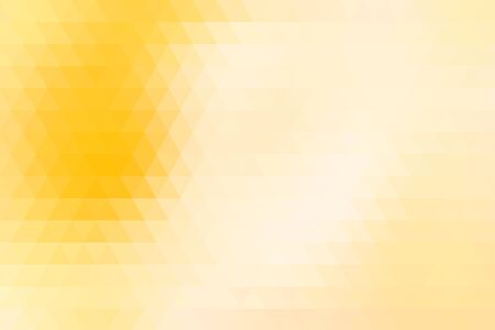 rows: Yellow abstract geometric background formed with triangles in rows.