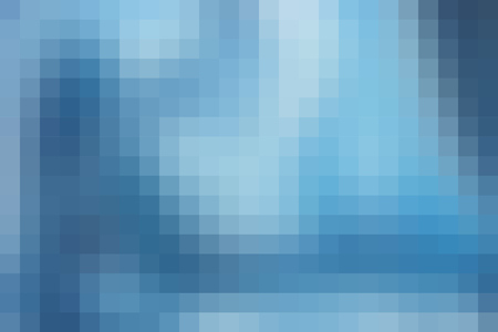 horizontal format: Abstract smooth mosaic tile blue background for any design, horizontal format.