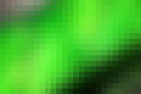 horizontal format: Abstract green mosaic tile background for any design, horizontal format. Illustration