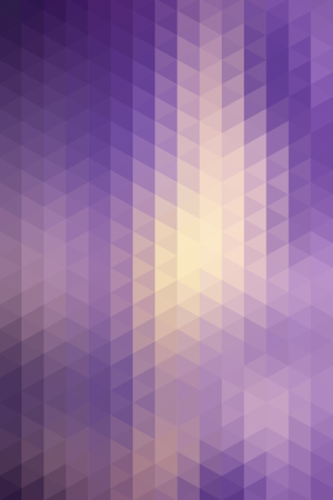 vertical format: Abstract geometric purple background formed with triangles in rows, vertical format.