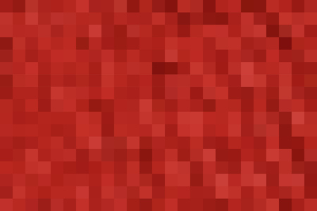 horizontal format: Abstract smooth mosaic tile red background for any design, horizontal format. Illustration