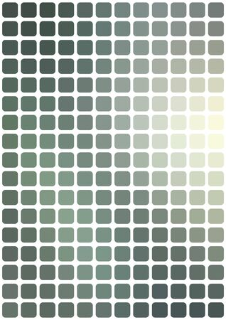 vertical format: Vector abstract gray mosaic background with rounded square tiles over white, vertical format.
