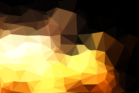 brightly: Abstract geometric background consisting of colored triangles. Illustration
