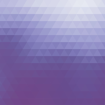 square abstract: Abstract geometric blue background formed with triangles in rows, square format.