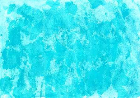 Handpainted aqua colored watercolor backgrounds for your design.