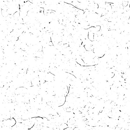 clutter: Grunge texture background in black and white. Illustration