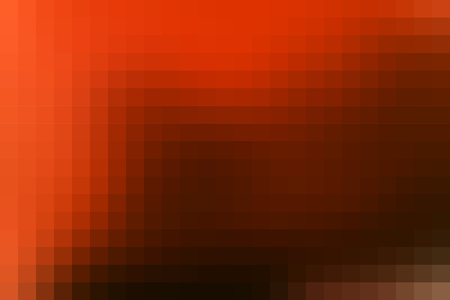 Abstract smooth mosaic tile orange background for any design, horizontal format.