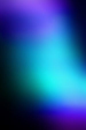Vector abstract vibrant blue smooth blur defocused background. Vertical format.