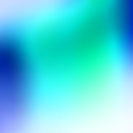 Vector square abstract smooth blur contemporary blue and green background.