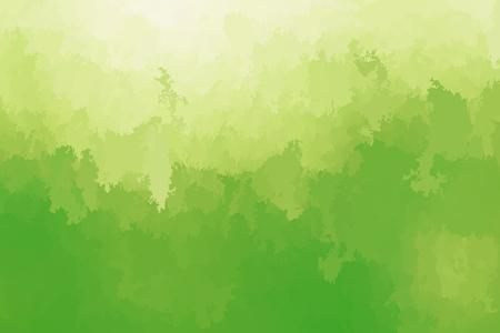 Abstract modern vector background, horizontal format. Digitally generated contemporary wallpaper. Vibrant light green backdrop.