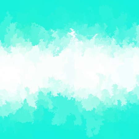Abstract modern vector background, square format. Digitally generated contemporary wallpaper. Light aqua blue and white backdrop.