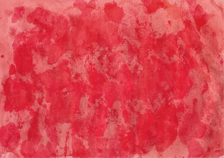 Handpainted red colored watercolor backgrounds for your design.