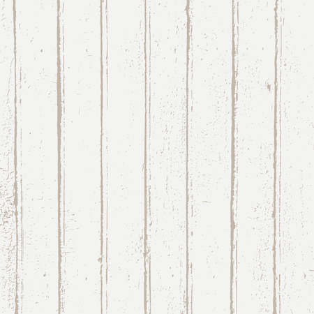Grunge wood overlay texture. Vector vintage illustration background in light brown over white, square format.