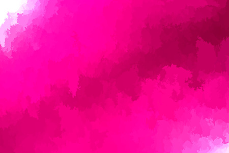 Abstract modern vector background, horizontal format. Digitally generated contemporary wallpaper. Vibrant hot pink backdrop.