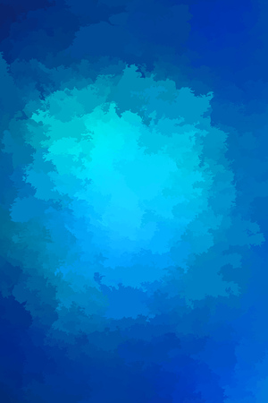 Abstract modern vector background, vertical format. Digitally generated contemporary wallpaper. Vibrant blue backdrop.