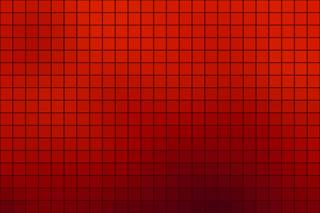 Abstract Square Mosaic Tile Red Background For Any Design