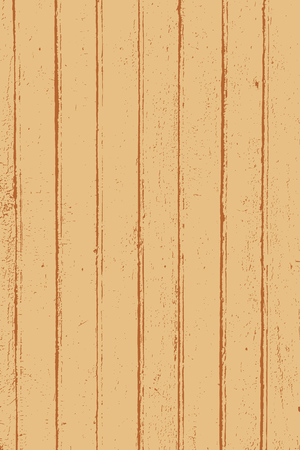Grunge wood overlay texture. Vector illustration background in vintage brown color, vertical format. Vetores