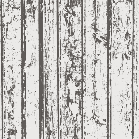 Grunge wood overlay texture. Vector vintage illustration background in brown colors, square format. Ilustração
