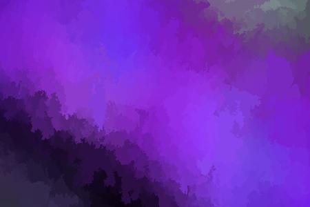 Abstract modern vector background, horizontal format. Digitally generated contemporary wallpaper. Vibrant dark purple backdrop. Ilustrace