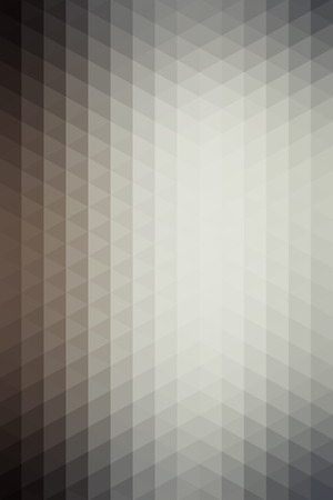 Abstract gray geometric background formed with triangles in rows, vertical format.