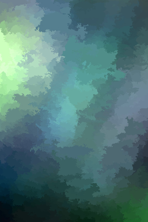 Abstract modern vector background, vertical format. Digitally generated contemporary wallpaper. Dark muted green backdrop. Ilustrace