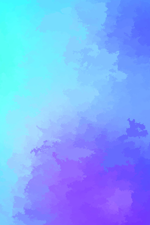 Abstract modern vector background, vertical format. Digitally generated contemporary wallpaper. Vibrant light blue and purple backdrop. Vetores