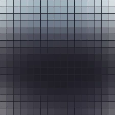 Abstract colored square mosaic tile gray background for any design, square format.