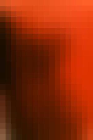 Abstract smooth mosaic tile orange background for any design, vertical format. Ilustração