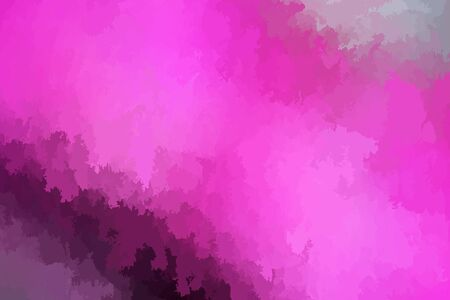 Abstract modern vector background, horizontal format. Digitally generated contemporary wallpaper. Vibrant pink backdrop. Ilustrace