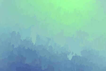Abstract modern vector background, horizontal format. Digitally generated contemporary wallpaper. Light blue and green backdrop.